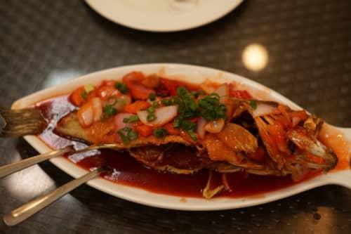 セブ島の魚料理