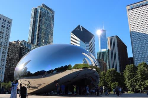 シカゴ ミレニアムパーク ビーンことクラウド・ゲート