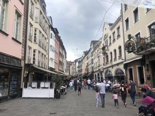 アルトシュタット=旧市街地 デュッセルドルフ