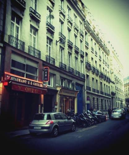 フランスの路地