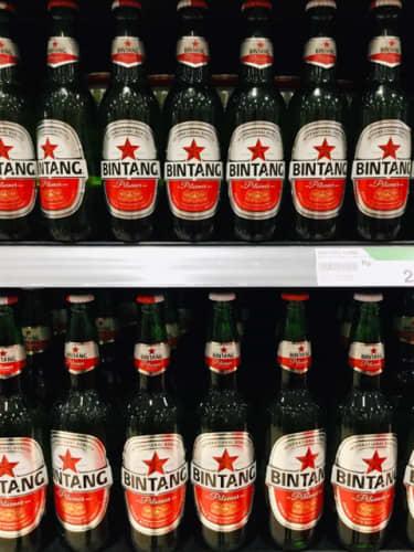 バリ島 ビンタンビール BINTANG BEER