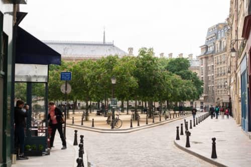 パリ シテ島観光 ドフィーヌ広場