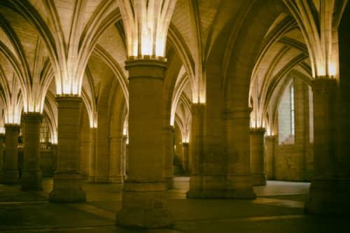 パリ シテ島 元牢獄コンシェルジュリー 半地下の礼拝堂