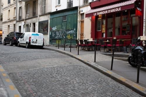パリ シテ島 フィリップ2世王のパリ城壁跡