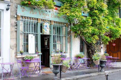 パリ シテ島 インスタスポット Au Vieux Paris d'Arcole