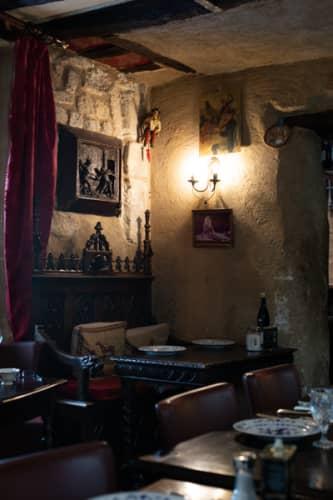パリ シテ島 Au Vieux Paris d'Arcoleの一室