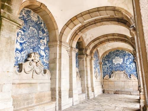 ポルト大聖堂 中庭 アズレージョ装飾