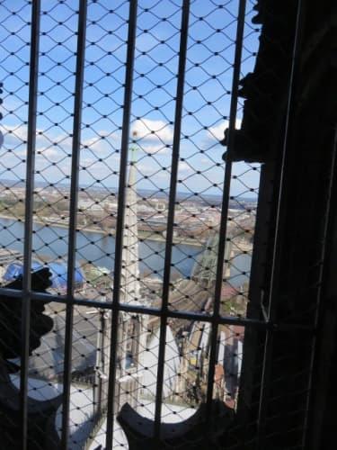 ケルン大聖堂からの風景