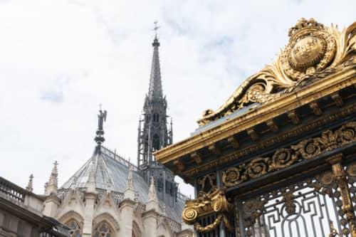 パリ シテ島 ステンドグラスのサントシャペル