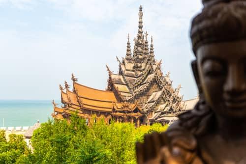 世界の絶景 サンクチュアリ・オブ・トゥルース(タイ)
