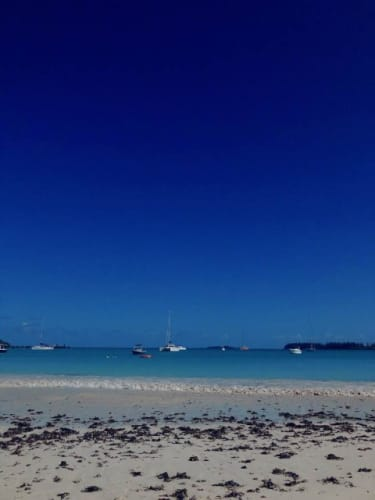 イル・デ・パン島のクト・ビーチ
