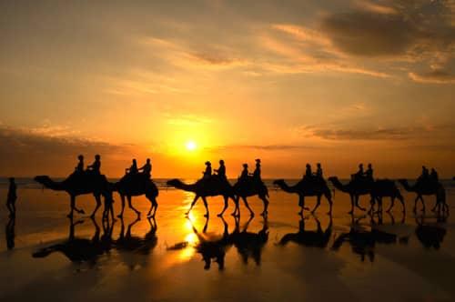世界の絶景 ケーブルビーチ(オーストラリア)