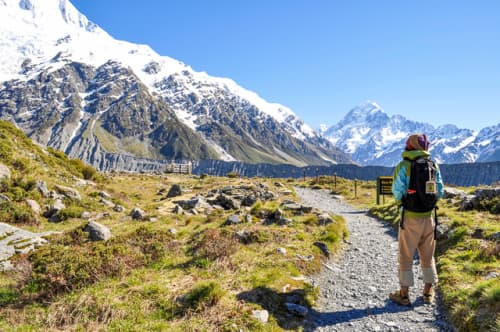 世界の絶景 マウント・クック国立公園(ニュージーランド)