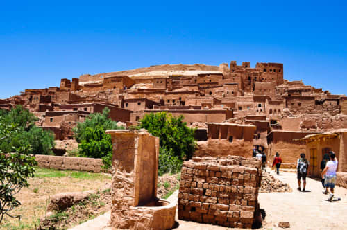 世界の絶景 アイト・ベン・ハッドゥ(モロッコ)