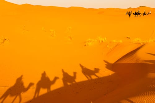 世界の絶景 サハラ砂漠(モロッコ)