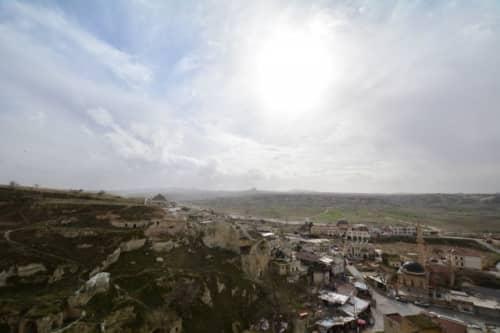 トルコ カッパドキアの岩石遺跡