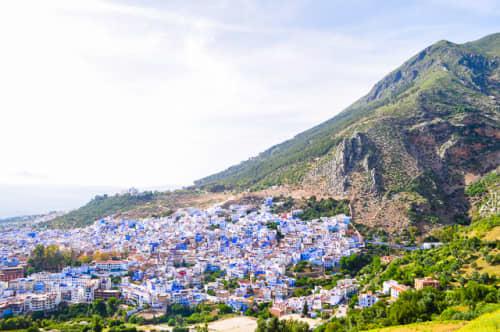 世界の絶景 モロッコ シャウエン