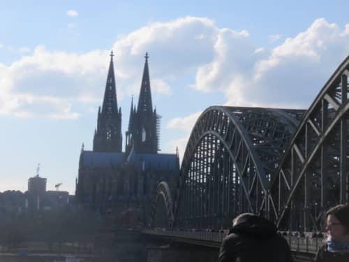 ホーエンツォレルン橋 ケルン大聖堂