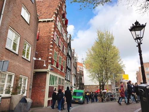 オランダ アムステルダム ダム広場周辺