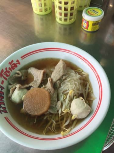 タイのリゾート地パタヤのレストラン