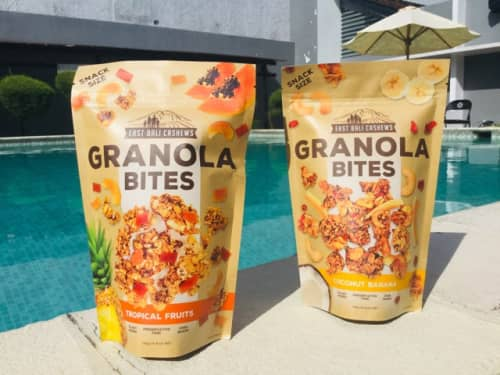 バリ島土産 オールナチュラル素材のGRANOLA BITES