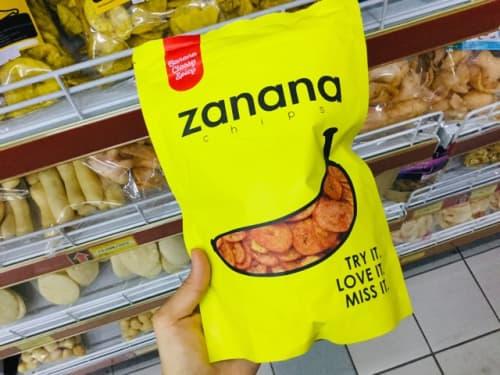 バリ島 zananaのバナナチップス