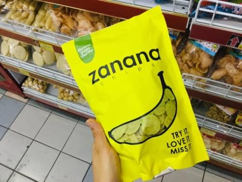 バリ島土産 zananaのバナナチップス