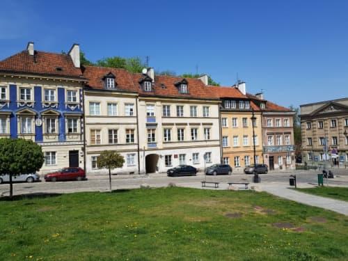 ワルシャワの街並み