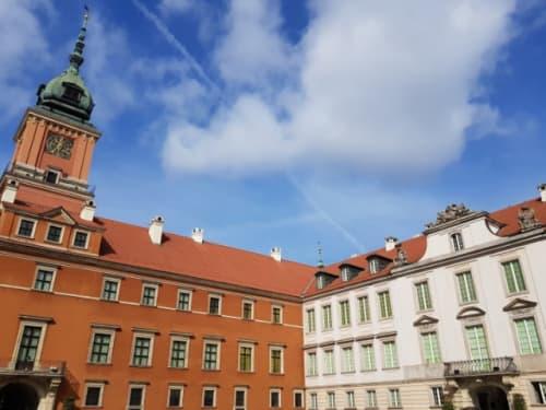 ワルシャワ 旧王宮