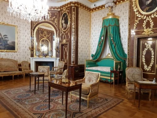 ワルシャワ 旧王宮内