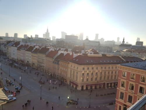 ワルシャワ 聖アンナ教会展望台からの眺望