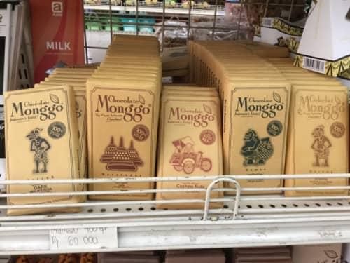 バリ島 ジャワ産チョコレート MONGGO