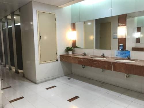 台湾 デパートのトイレ事情