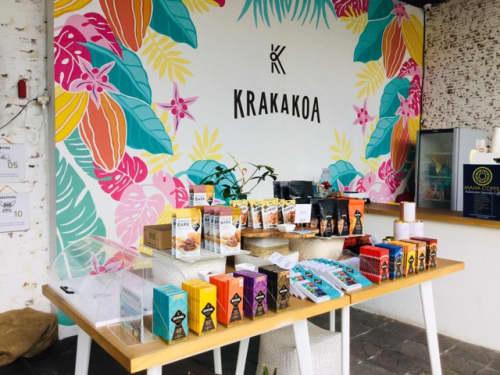 バリ島土産 バリ産チョコレート KRAKAKOA