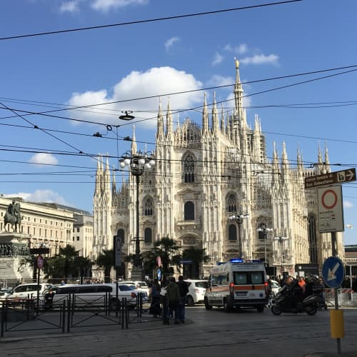 ミラノの風景
