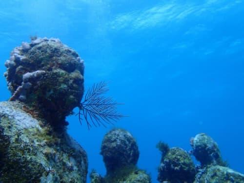 メキシコ カンクン沖 海底美術館