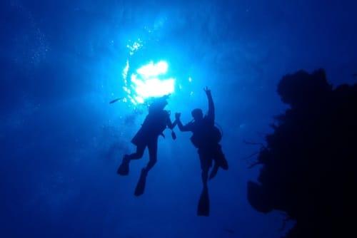 メキシコ カンクン コスメル島 コスメルブルーの海