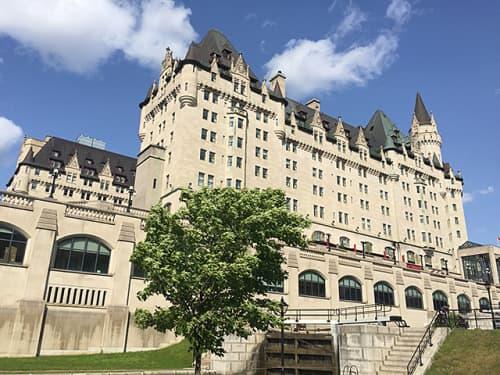 カナダ オタワ ホテル フェアモント シャトーローリエ