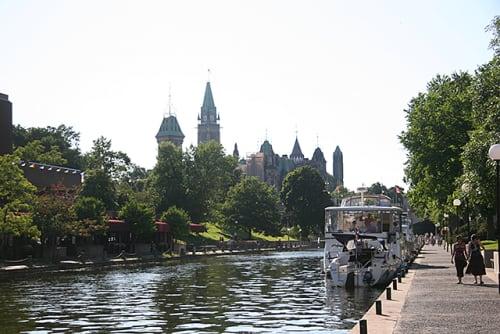 カナダ オタワ リドー運河