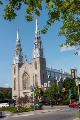 カナダ オタワ ノートルダム大聖堂