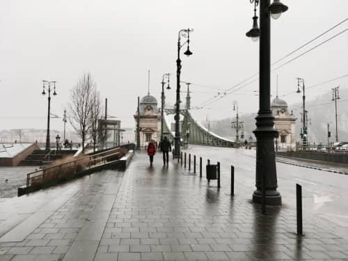 秋のブダペスト