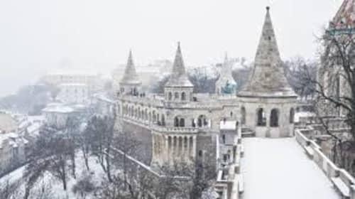 冬のブダペスト