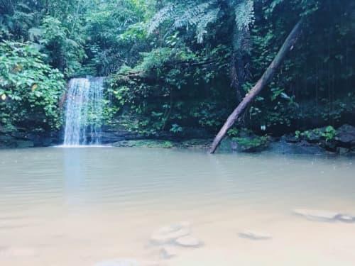 テラジャ滝