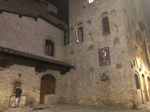フィレンツェ ダンテの家