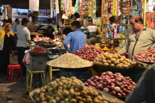 インドのマーケット