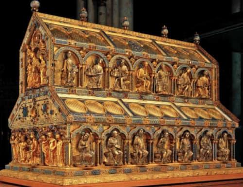 ケルン大聖堂 東方の三博士の聖遺物