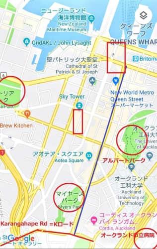 オークランドVS東京の治安【シティの危険地域】