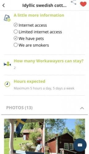 Workaway 労働時間