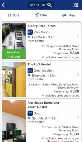 Booking.com ゲストハウス