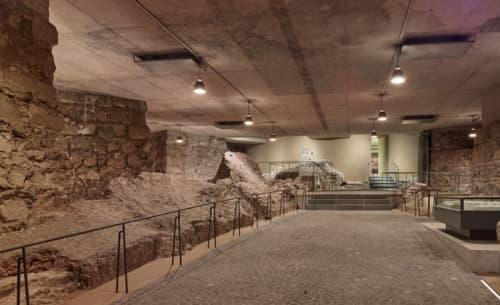 ケルン大聖堂地下の遺跡